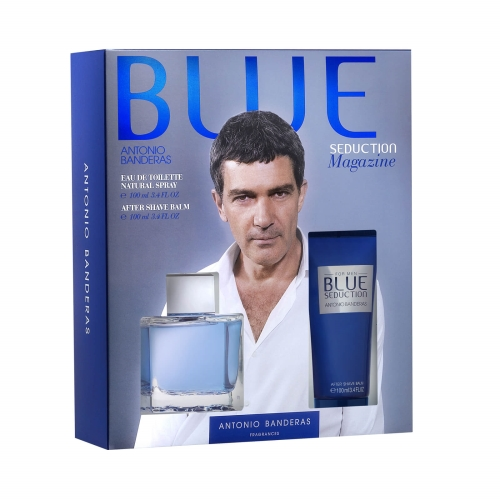 Antonio Banderas Mavi Man Edt 100 Ml + After Shave Kofre