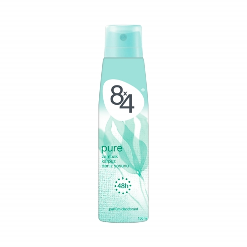 8x4 Deodorant Pure Women 150 Ml