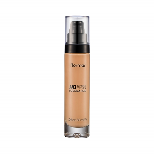 Flormar Hd Invisible Cover Fondöten 90 Golden Neutral