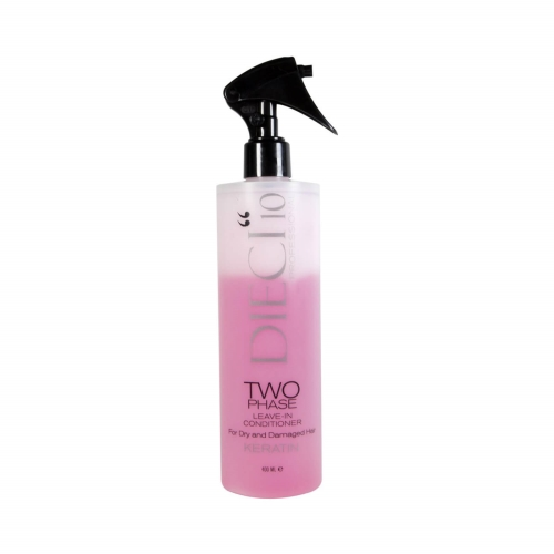 Dieci10 Two Phase Keratin 400 Ml Pembe