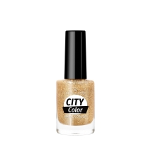 Golden Rose City Color Nail Lacquer Glitter 103