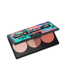 Pastel Hello Gorgeous Everday Higlighter-Shadow-Blush Palette