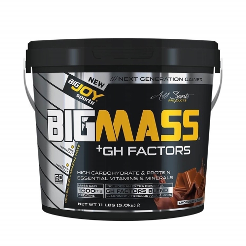 Big Joy Big Mass Gainer + Gh Factors Çikolata 5000 Gr